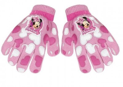 Luvas mágicas rosa Disney Minnie