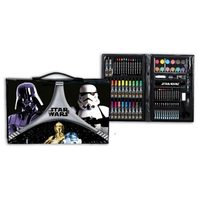 Mala acessorios pintura Star Wars Flash 87pcs
