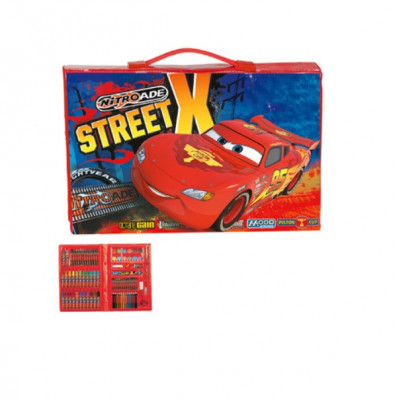 Mala Pintura Cars Street