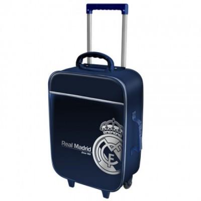 Mala trolley Viagem azul Real Madrid