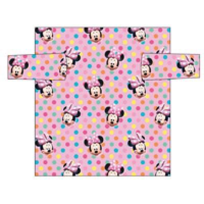 Manta polar c/ mangas da Minnie Mouse