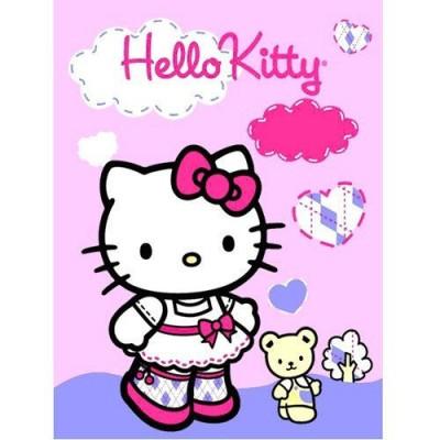 Manta polar Country Hello Kitty