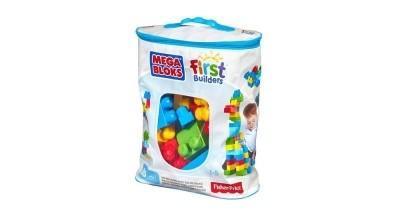 Mega Bloks - Bolsa Azul Maxi 60 Peças