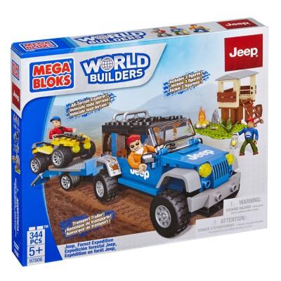 Mega Jeep Explora a Floresta