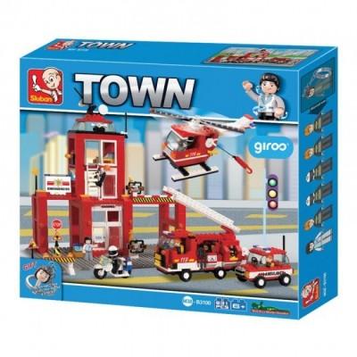 Mega quartel bombeiros Town