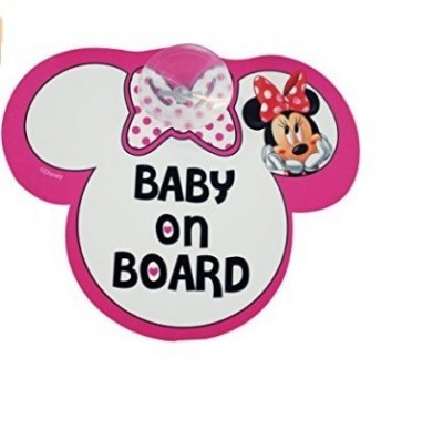 Minnie Sinalizador Baby on Board