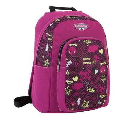 Mochila escolar 42cm Seven Princess Pink