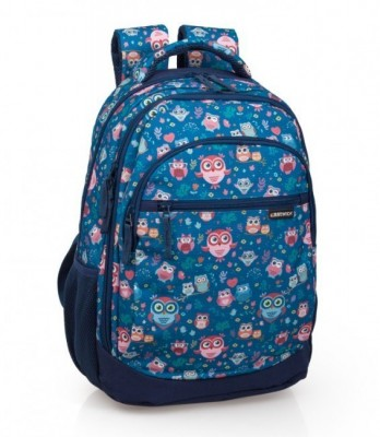 Mochila escolar 44cm Eastwick premium Little Owls
