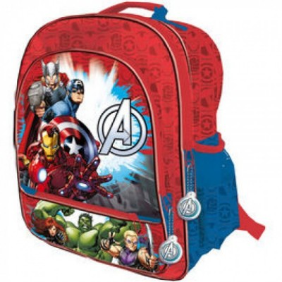 Mochila escolar adap trolley Marvel Avengers Reunion