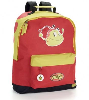Mochila escolar Alfa (Trolley ready)