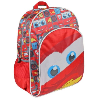 Mochila Escolar Cars Disney Face