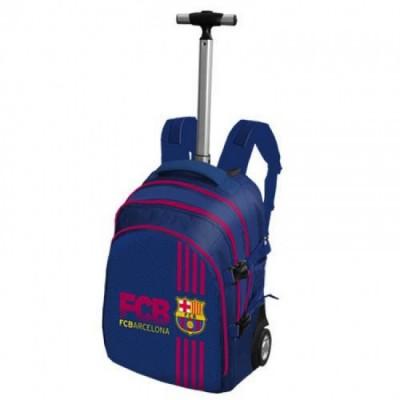 Mochila escolar com Trolley  F.C.Barcelona