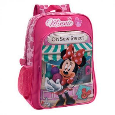 Mochila escolar Disney Minnie Oh Sew Sweet