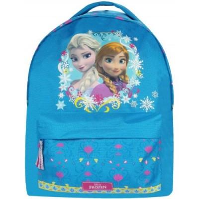 Mochila escolar Frozen Sisters Love Blue