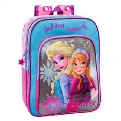 Mochila escolar Frozen Star Grey 2, adap Trolley