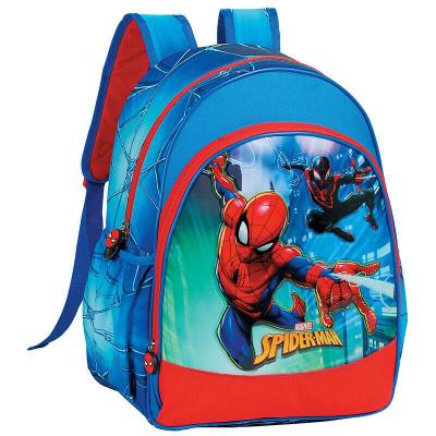 Mochila Escolar Spiderman City Protection adap trolley 40cm