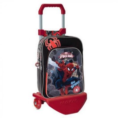 Mochila escolar trolley Marvel Spiderman Go Spidey