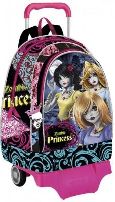 Mochila Escolar Trolley Princesas Disney Zombie