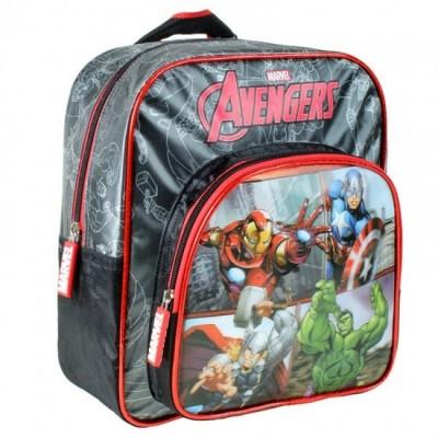 Mochila pré escolar 2 fechos Marvel Avengers New Team