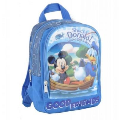 Mochila Pré-escolar 27 cm da Disney Mickey e Donald