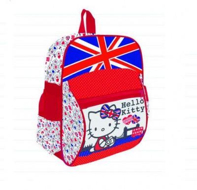 Mochila Pre Escolar com bolso frontal Hello Kitty  UK