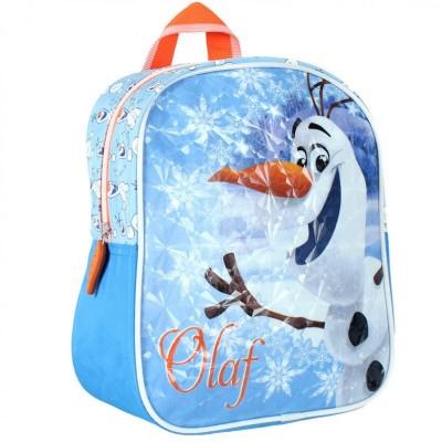 Mochila pre escolar Frozen Olaf Blue