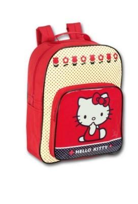 Mochila Pre Escolar Hello Kitty Dot