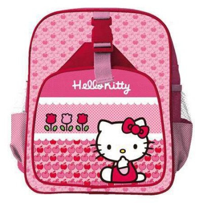 Mochila Pre Escolar Hello Kitty Flower