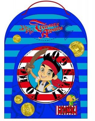 Mochila Pre Escolar Jake Os Piratas Treasure