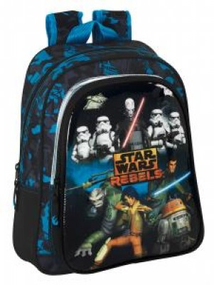 Mochila Pre Escolar Star Wars Rebels, adap Trolley