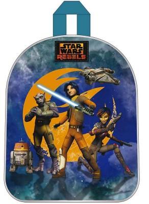Mochila Pre Escolar Star Wars Rebels blue