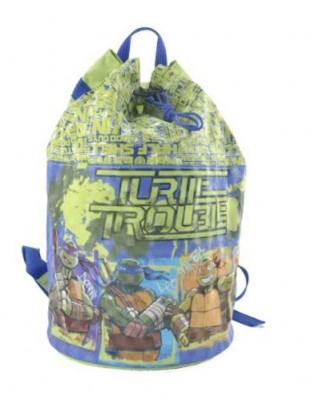 Mochila saco desporto Tartarugas Ninja Trouble