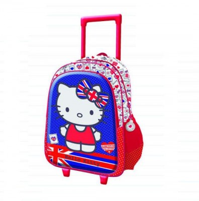 Mochila Trolley 3D Hello Kitty UK
