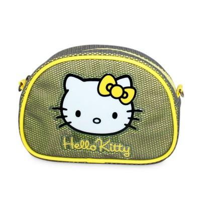 Nécessaire Verde Oval Hello Kitty