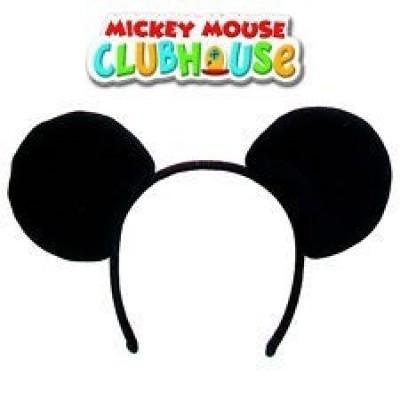 Orelhas Bandolete Mickey Menino