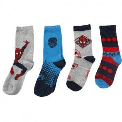 Pack 12 meias Spiderman