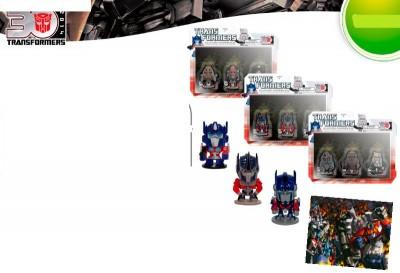 Pack 3 Figuras Transformers 4cm