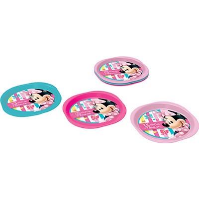 Pack 3 Pratos Picnic Disney Minnie