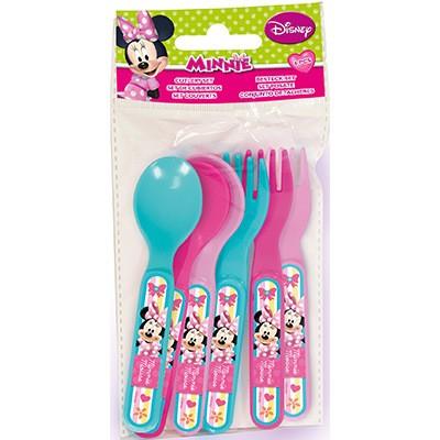 Pack 6 talheres Picnic Disney Minnie