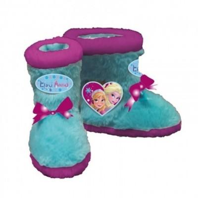 Pantufa bota Frozen Heart