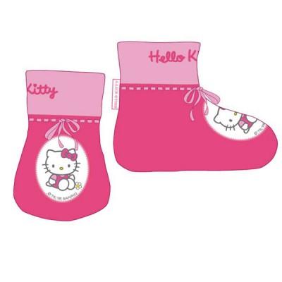Pantufas Bebé Hello Kitty