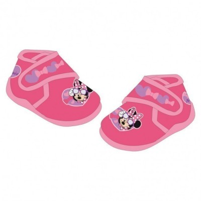 Pantufas Disney Minnie rosa