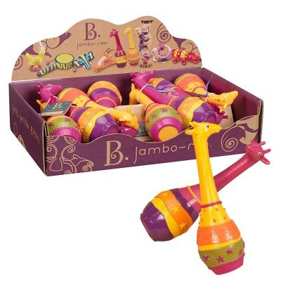 Par Maracas Musicais Infantis Battat-B