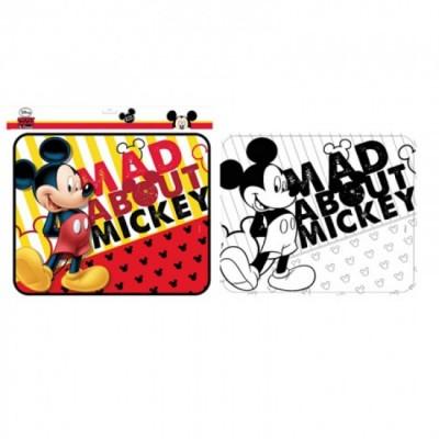 Parasol lateral + poster pintar Mickey