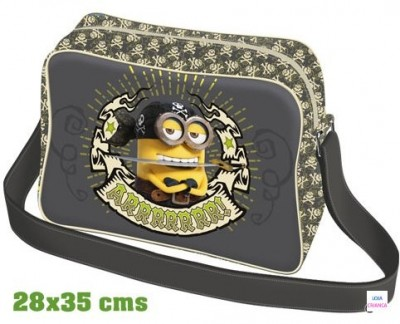 Pasta escolar Minions Pirate