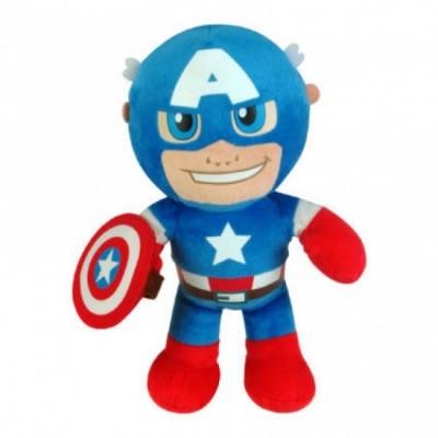 Peluche Capitao América Marvel 25cm