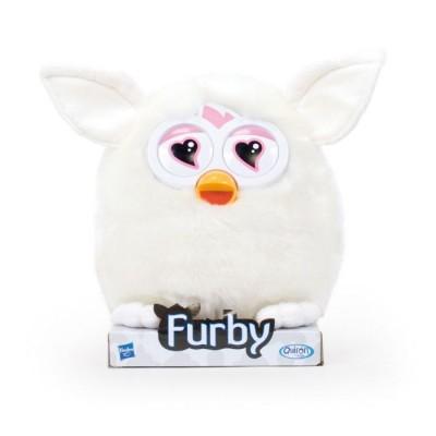 Peluche Furby Soft branco 20cm