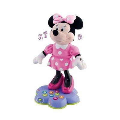 Peluche Minnie conta contos e canta disney