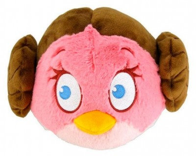 Peluche Princesa Leia Angry Birds Star Wars 13cm
