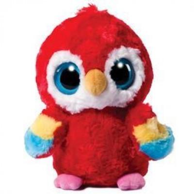 Peluche Scarlet Macaw Yoohoo & Friends Arara